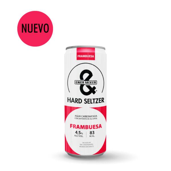 Nuevo E&M Hard Seltzer frambuesa
