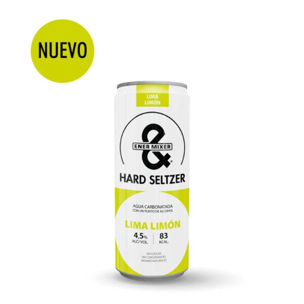 Nuevo E&M Hard Seltzer lima-limón