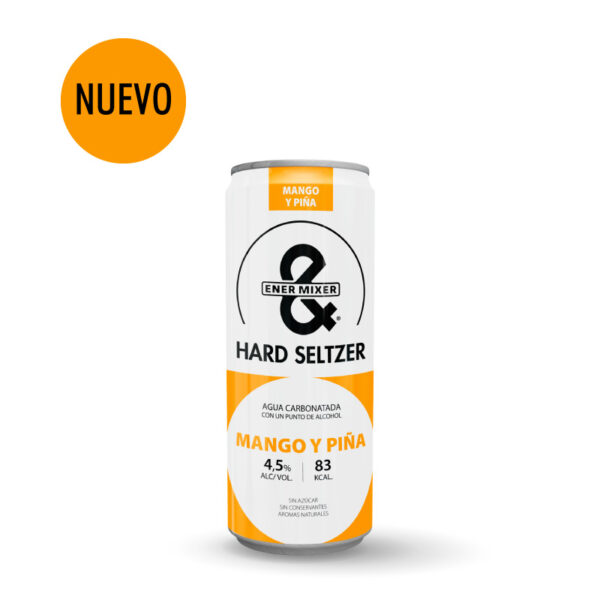 Nuevo E&M Hard Seltzer mango y piña